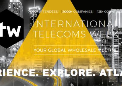 International Telecoms Week (ITW) 2019 – June 23-26 – Atlanta, GA