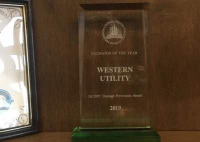 "Western Utility Named ""Excavator Contractor of the Year"""