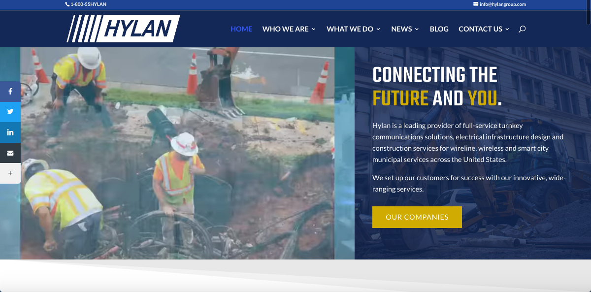 Hylan Launches New Website