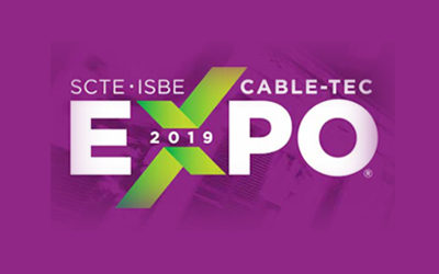 SCTE•ISBE Cable-Tec Expo® 2019  – September 30 – October 3 – New Orleans, LA