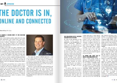 Hylan CEO Featured in CIO Review: Why 5G is Essential to Meeting Smart City and Healthcare Requirements