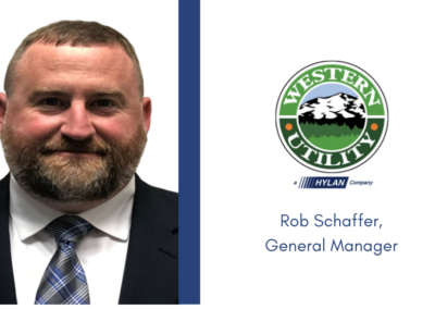 Western Utility Promotes Rob Schaffer to General Manager