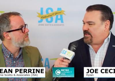 Hylan CEO Joe Cecin Talks with JSA TV