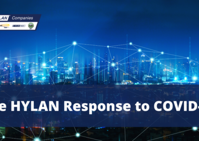 The HYLAN Response to  COVID-19